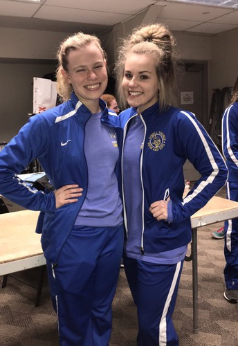 Todd & Bissell Named Girls Swim Captains
