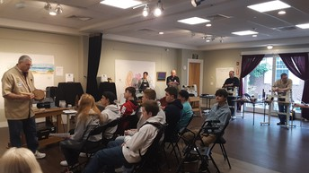 Oak Street Academy Students Learn from Cape Cod Woodturners at Cultural Center of Cape Cod
