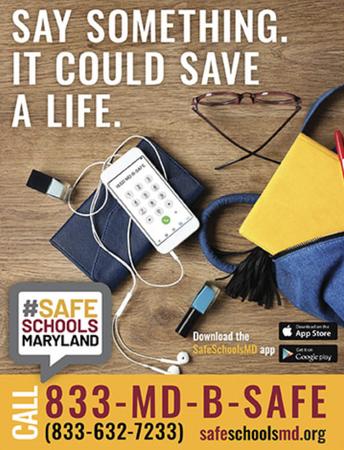 Safe Schools Maryland Tip Line