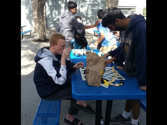 Beckman Chess Club Competes in Inter-High School Chess Tournament