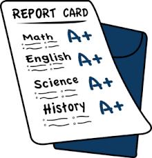 Las boletas de calificaciones