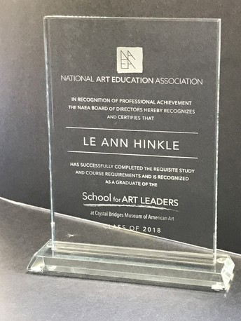 Congratulations, Ms. Hinkle!