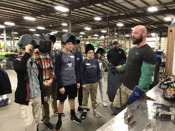 DTEC Hosts HVAC, Electrical, and Plumbing Tour for 9th Graders
