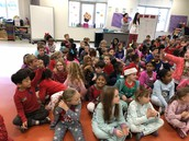 Singing Christmas Carols as a community