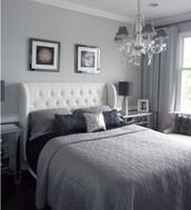 Silver Bedroom Design
