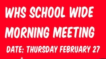 School Wide Morning Meeting w/ Grade 1 Leaders