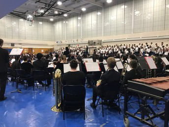 Congratulations to our Grade 4 and 5 students on their band, orchestra, and choral concerts