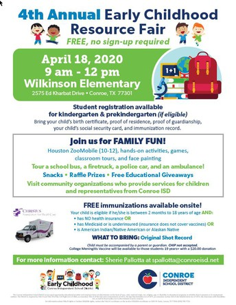 Early Childhood Resource Fair