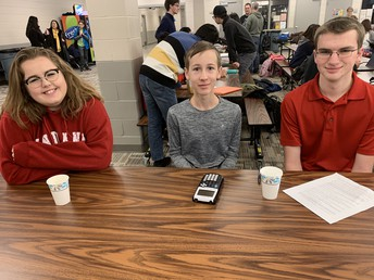 Gifted/Talented Attend Math League