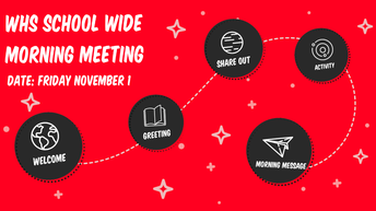 November's School Wide Morning Meeting (SWMM)