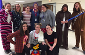 So many staff participated - Our staff Rocks!