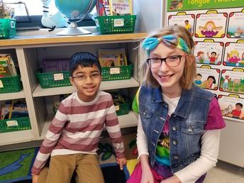 1st & 5th Grade Classroom Buddies