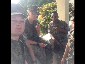 Marine's 0311 based in Hawaii received their gift. They said thank you!