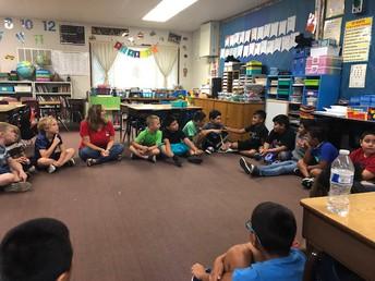 Ms. DeLong's 3rd graders