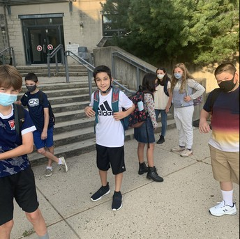 AMS Students Excited to Head Into School Soon!