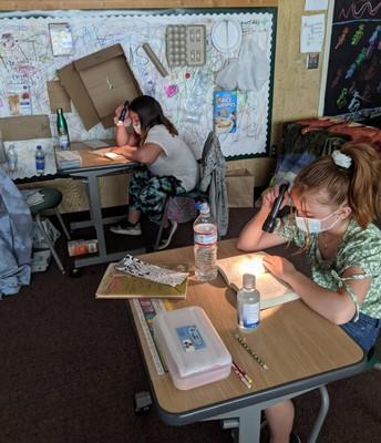 Flashlight reading on Fridays