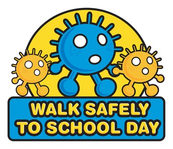Walk to School Day is just around the corner.....