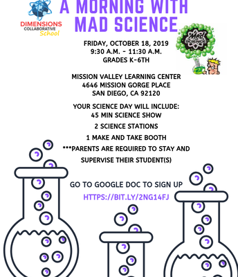 A Morning With Mad Science: RSVP Today!
