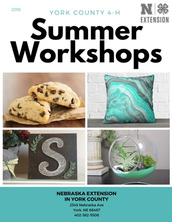 Summer Workshops Released!