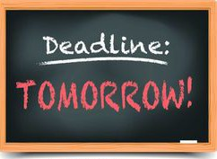 TOMORROW IS LAST DAY TO RE-ENROLL STUDENTS FOR NEXT SCHOOL YEAR
