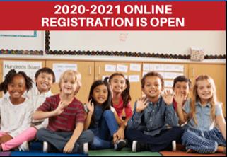 ¡La inscripción para el año escolar 2021-2022 ESTÁ ABIERTA!
