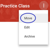 Reorder Class Cards in Google Classroom