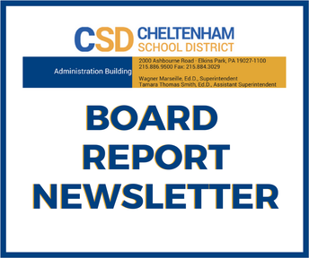 Stay Informed | Board Report Newsletter | 01·24·18