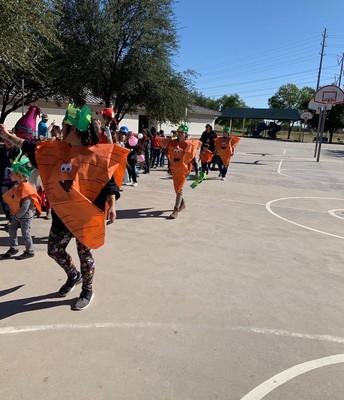 Scary Pumpkins in Preschool