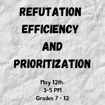 REFUTATION EFFICIENCY AND PRIORITIZATION