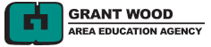 Grant Wood Area Education Logo