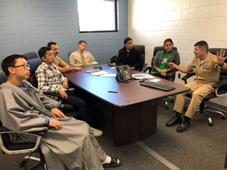 US Naval Academy Recruiters Visits GSST