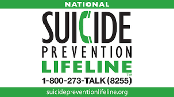 Call the National Suicide Prevention Lifeline.