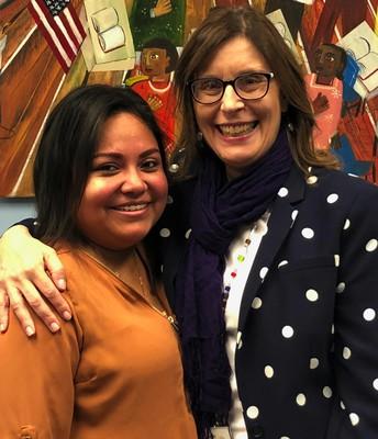 Mrs. Aguilar Pozos, Bilingual Liaison