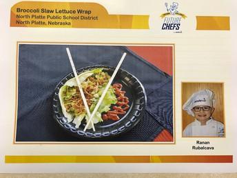 Broccoli Slaw Lettuce Wrap