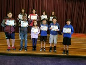 6th gr Students of the Month