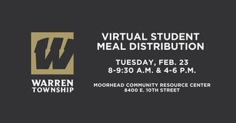 Warren Food Distribution Update