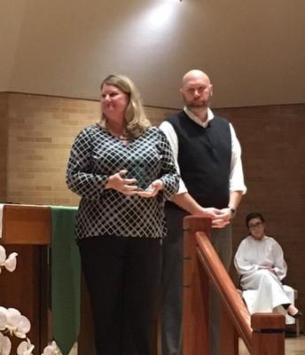 Patrick Brogan and Allison Pohl