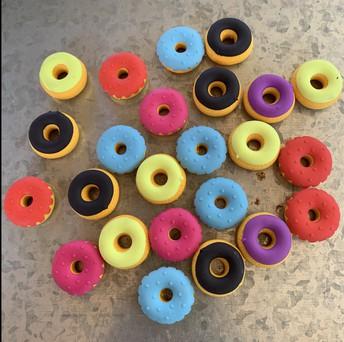 Mini Donut Erasers