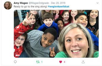 Mrs. Magee uses Twitter!