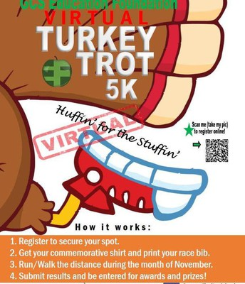 It's Turkey Trot Tuesday and Thursday!