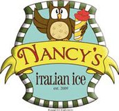Nancy's Italian Ice on Wednesdays!