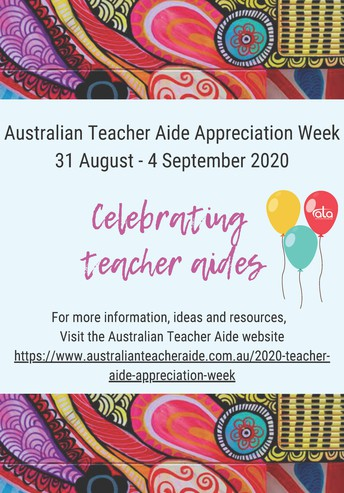 Australian Teacher Aide Recognition Week