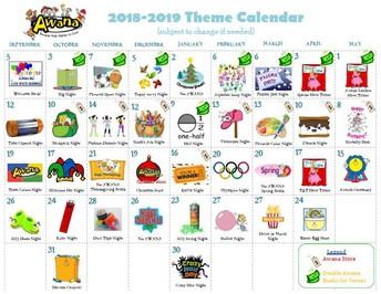 2018-19 Themes & Parent Info