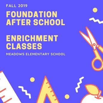 Foundation After School Enrichment Classes