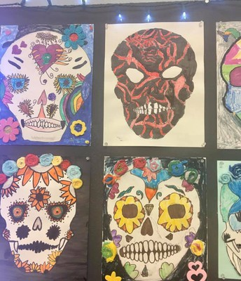 Dia de Los Muertos Art Show and Party