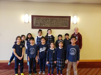 Elementary Spelling Bee Participants