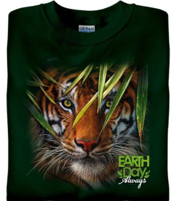 """Tiger """"Earth Day Always"""" Shirt"""