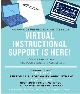 picture of Virtual Teacher Schedule