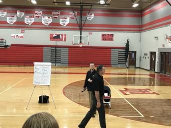 Jim Bisenius presented strategies to prevent Bullying