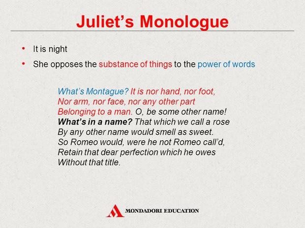 romeo monologue